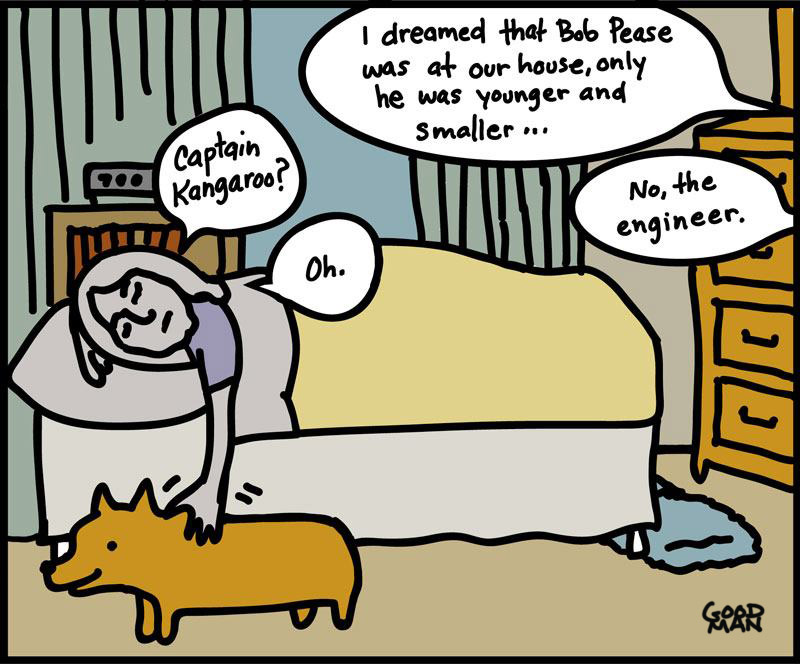 Dreaming of Bob Pease