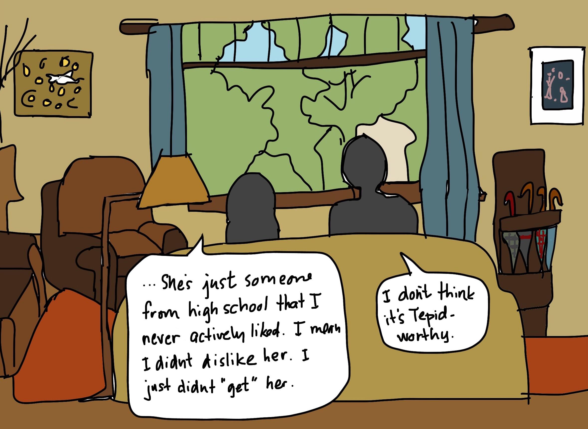 Unworthy, Self-Referential Cartoons Didn't Get Drawn as Well