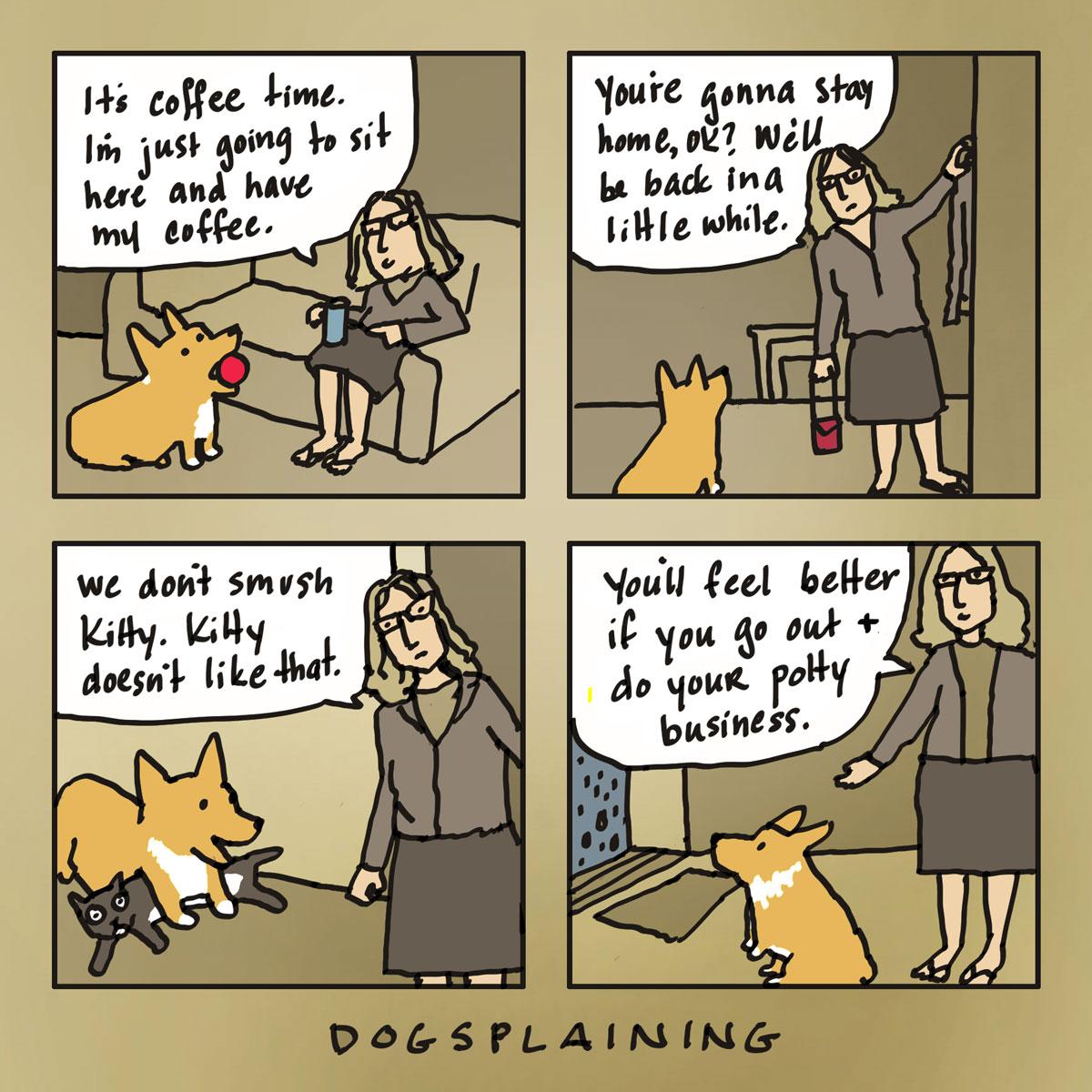 Dogsplaining