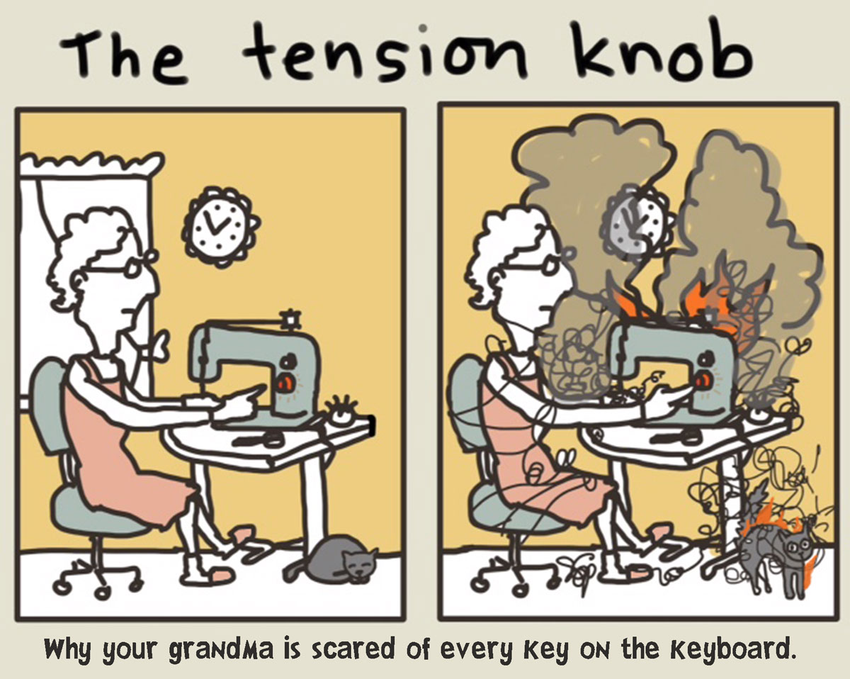 The Tension Knob