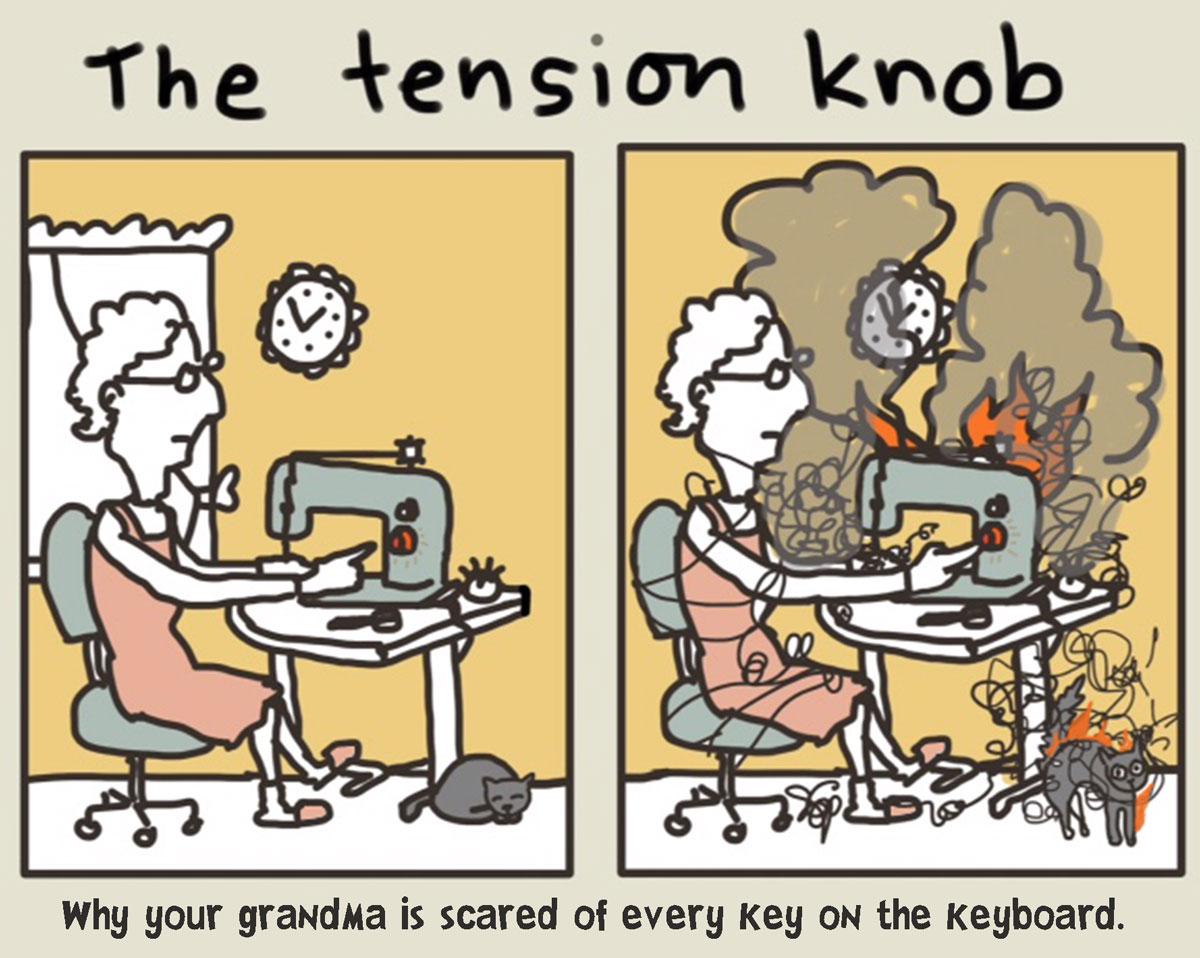 The Tension Knob